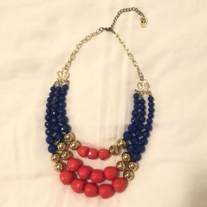 🎉 3/$15 triple strand beaded necklace